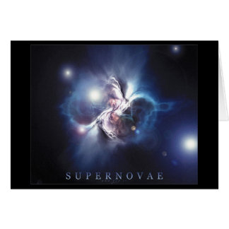 Supernovas Carte De Vœux