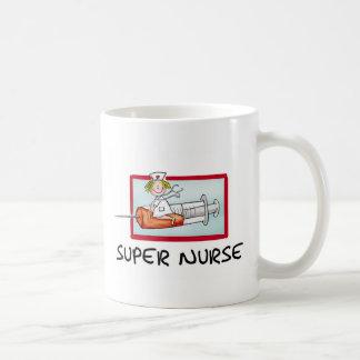 supernurse - infirmière humoristique de bande mug