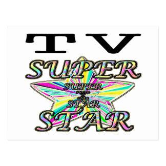 Superstar de TV Carte Postale