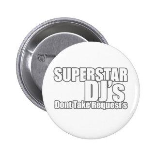 Superstar DJ Badge Avec Épingle