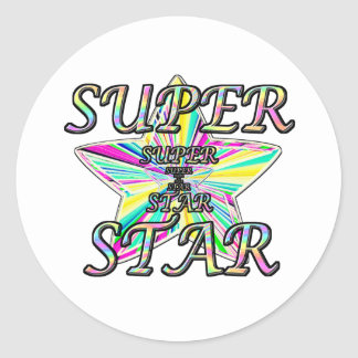 Superstar Sticker Rond