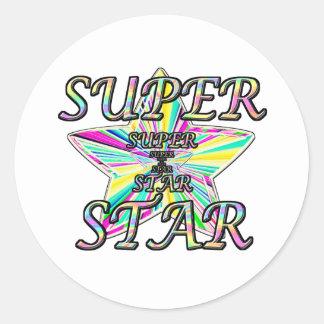 Superstar Sticker Rond