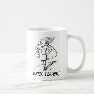superteacher, Teaher superbe ! , Professeur Mug