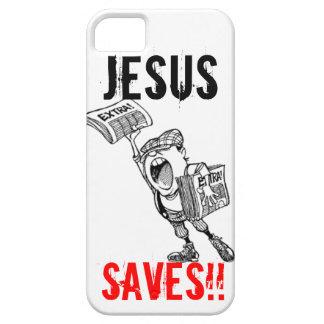 Supplémentaire, supplémentaire ! Jésus économise ! iPhone 5 Case