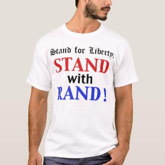 Support avec la chemise 2016 de couche-point t-shirt