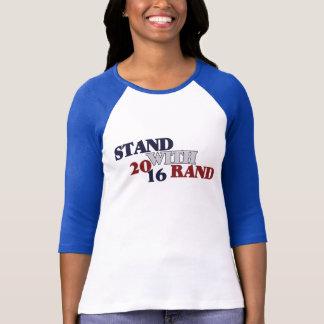 Support avec le couche-point 2016 t-shirt