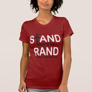 Support avec le couche-point t-shirt