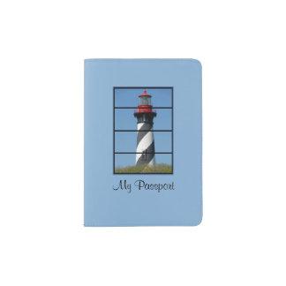 Support beau de passeport de phare de St Augustine Protège-passeport