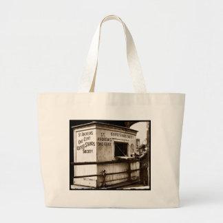 Support de café de penny de l'ère une de sacs de toile