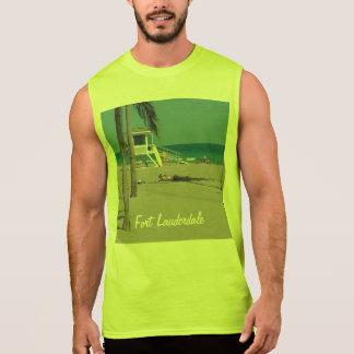 Support de maître nageur de plage de pi Lauderdale T-shirt Sans Manches