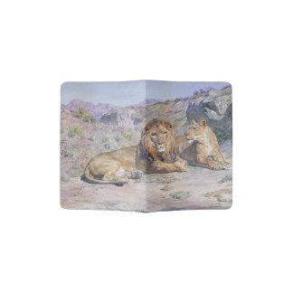 Support de passeport de grands chats d'animaux de protège-passeport