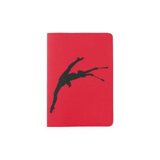 Support de passeport de gymnastique rythmique protège,passeports