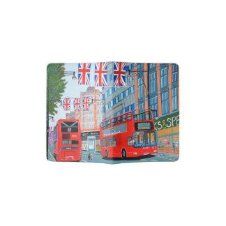 Support de passeport de la Reine de rue d'Oxford Protège-passeport