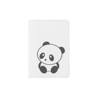 Support de passeport de panda protège-passeports
