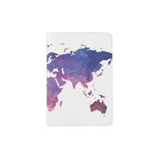 Support de passeport de Planisphere Protège-passeport