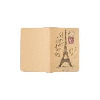 Support de passeport de Postale de carte Protège-passeport