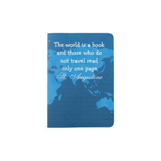 Support de passeport de voyage protège-passeports