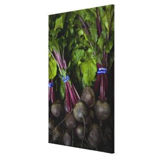 support du marché d'agriculteurs avec le divers toiles