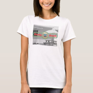 Support louche de plage t-shirt