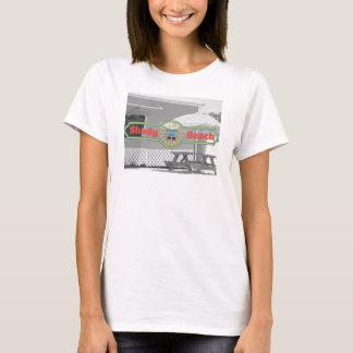 Support louche de plage t-shirt