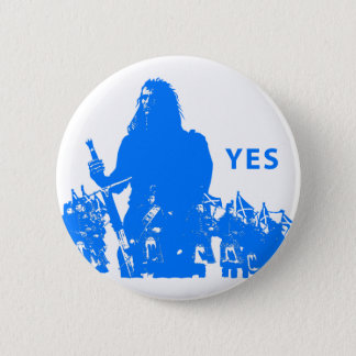 Support Scotland Button Pin Badge