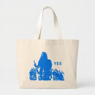 Support Scotland Custom Large Tote Bag