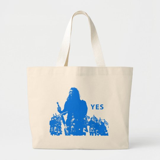 Support Scotland Custom Large Tote Bag