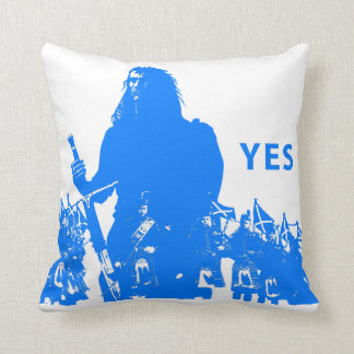 Support Scotland Polyester Throw Pillow Coussin