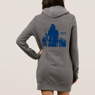 Support Scotland Women's Hoodie Dress Robe