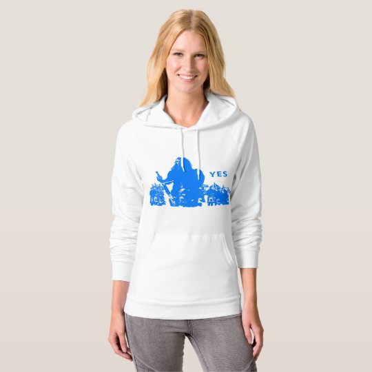 Support Scotland Womens Pullover Hoodie