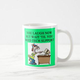 support technique, support technique mug