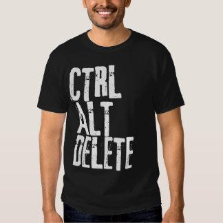 suppression de CTRL alt T-shirt