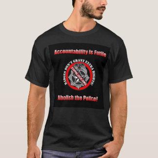 Supprimez la police - bloc de cannette de fil t-shirt
