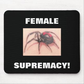 SUPRÉMATIE FEMELLE ! TAPIS DE SOURIS