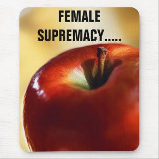 SUPRÉMATIE FEMELLE TAPIS DE SOURIS