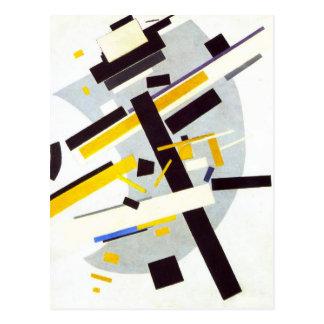 Suprematism par Kazimir Malevich Carte Postale