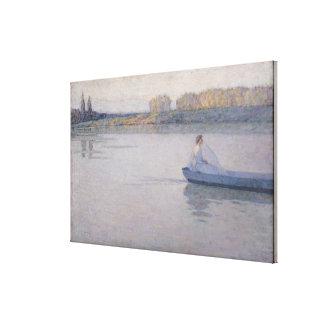 Sur la rivière, matin, 1896 toiles