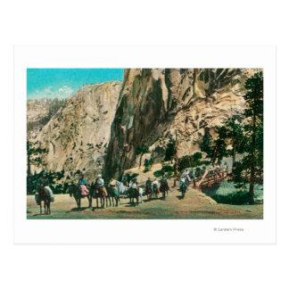 Sur la traînée aux automnes du Nevada, point de Carte Postale