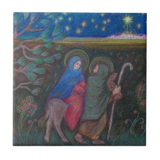 """""""Sur le chemin"""" à Bethleham Petit Carreau Carré"""