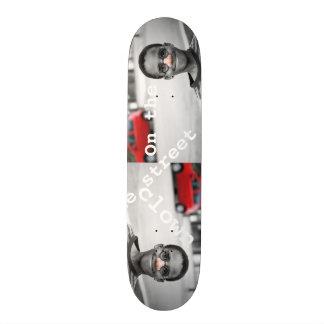 sur le clown de rue skateboards personnalisés