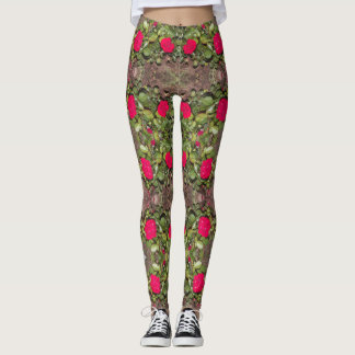Sur le pantalon de yoga de vigne leggings