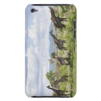 Sur le safari en parc national de Mikumi en Coque Barely There iPod