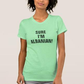 Sure je suis albanais t-shirt