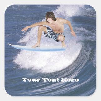 Surf Attrapez la vague Adhésifs