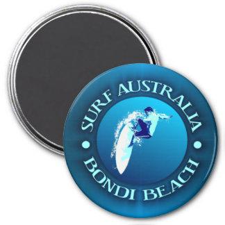 Surf Australie (Bondi) Magnet Rond 7,50 Cm