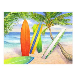 Surf ! carte postale