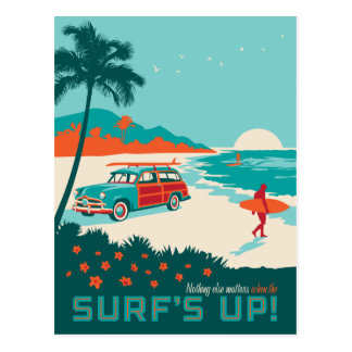 Surf Carte Postale