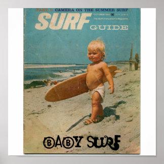 surf de bébé surf de bébé poster