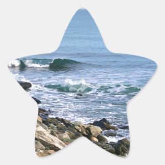 Surf de la Nouvelle Angleterre Sticker Étoile