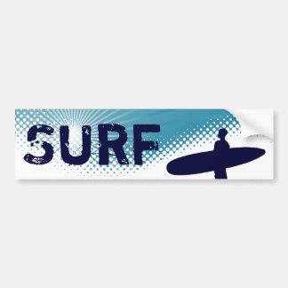 surf de soleil autocollant de voiture